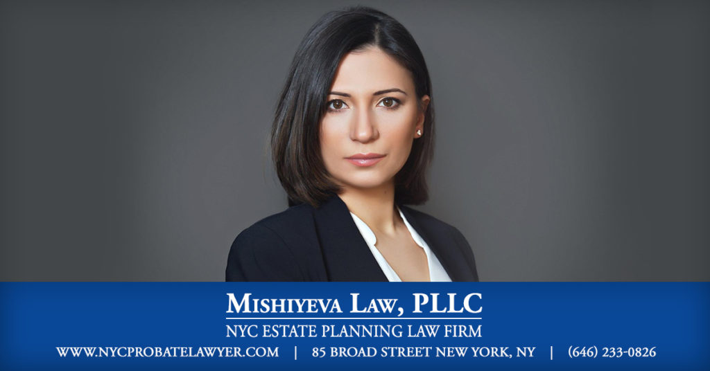 estate and probate will lawyer new york
